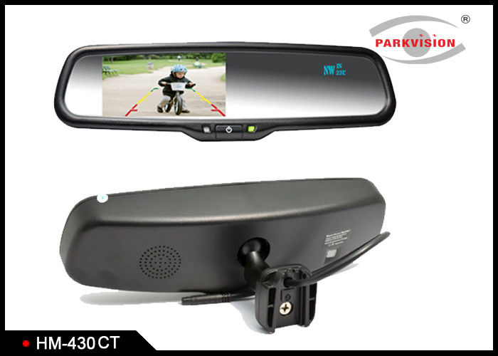 Smart HD Car Camera Rear View Mirror With Compass And Temperature Showing