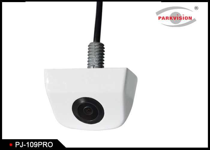 White Vision Bus Rear View Camera , Microphone Side Camera With Precise Angle